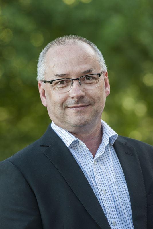 Tommy Karlsson, chef för SKF i Hofors.