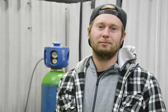 Johan Broman, kursdeltagare IWS.