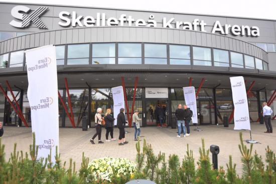 Euro Mine Expo på Skellefteå Kraft Arena.