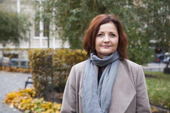 Marie Nilsson, förbundsordförande IF Metall.