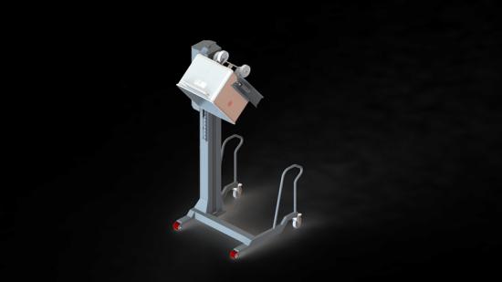 Nimo-KG:s nya enpelare SKV 300 C4 som lanseras vid halvårsskiftet.