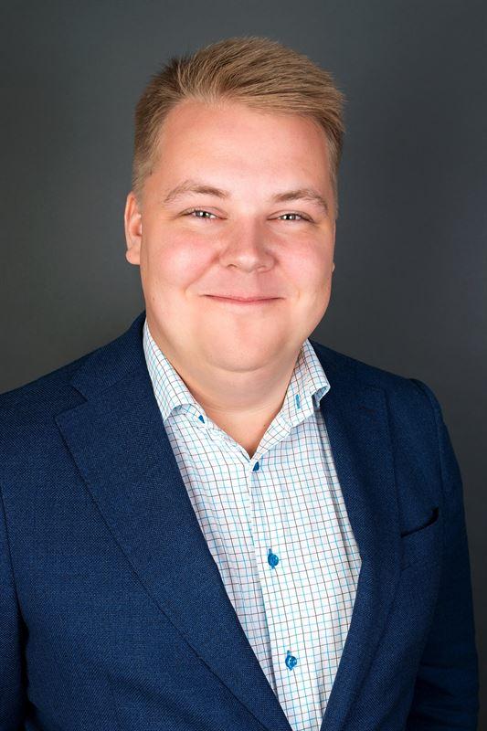 Kim Salsbring, chef för ABB Process Industries i Skellefteå.