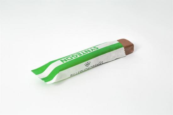 Flow wrap uppfyller barriärkraven för konfektyr- och bageriprodukter och gör det möjligt att byta ut vanliga plastförpackningar mot miljövänligare alternativ i papp.