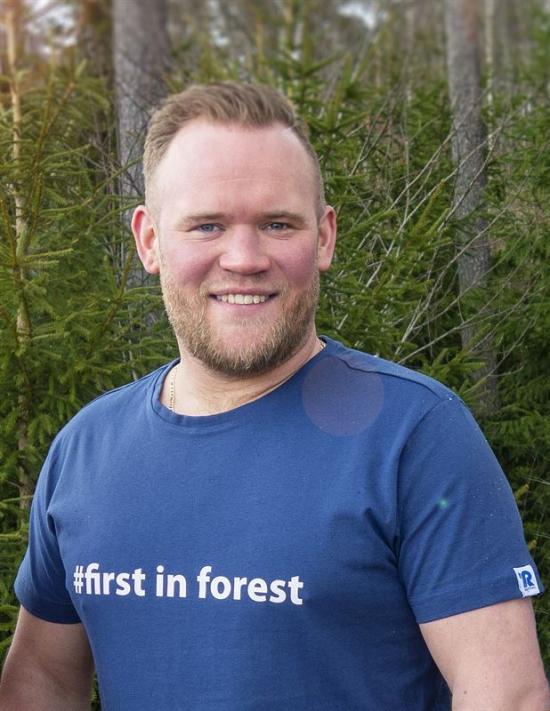 """Samuel Östling på Rottne Industri anser att det är läge att prata om en ny """"Rottne-boom"""" i Kanada."""