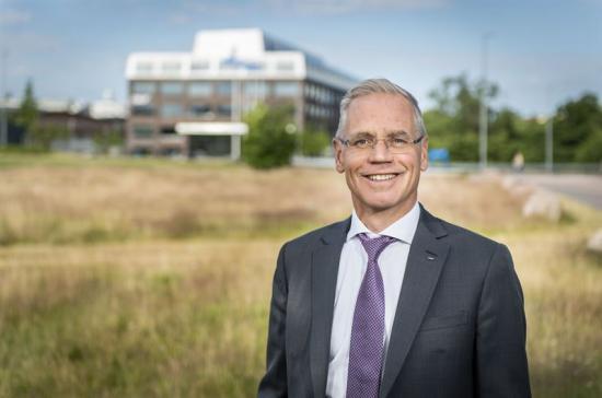 Rickard Gustafson, Vd och koncernchef.