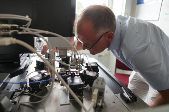 Lars-Erik Wernersson koordinerar projektet.