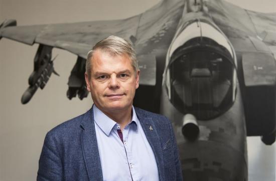 Petter Bedoire ny teknikchef på Saab.