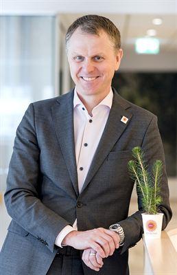 Per Lyrvall, Stora Ensos Sverigechef.