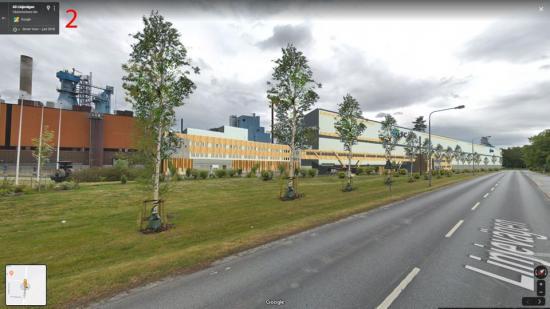 Planerad byggnad hos SCA i Obbola.