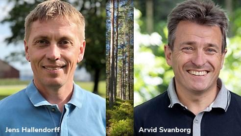 <span><span><span>Jens Hallendorff, ny platschef, och Arvid Svanborg, </span></span></span>ny inköpsdirektör.
