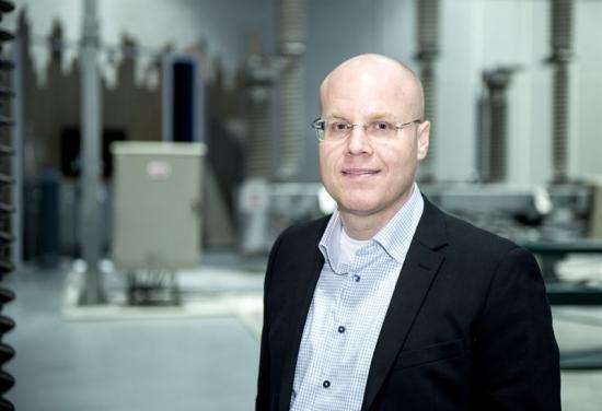 <span>Tobias Hansson, platschef för ABB i Ludvika från och med den 1 oktober 2019.</span>