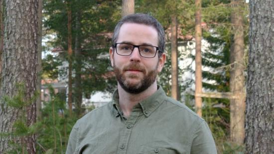 Rickard Sjögren, doktorand på Kemiska institutionen vid Umeå universitet.