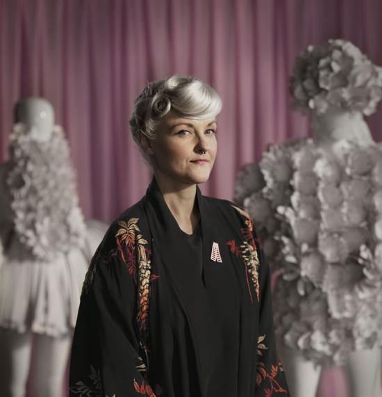 Bea Szenfeld, Cancerfondens Rosa Bandet-designer 2018.