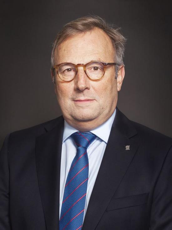 Pierre Heeroma, direktör för prospekteringar.
