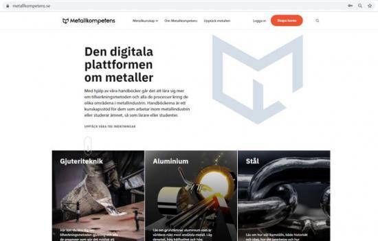 Bild från utbildningssidan Metallkompetens.se.