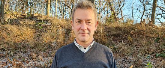 Anders Edensvärd lämnade ett etablerat företag för att börja på Ragn-Sells innovationsbolag EasyMining.