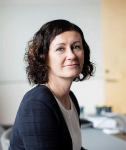 Helena Hedblom, ny VD och koncernchef för Epiroc AB.