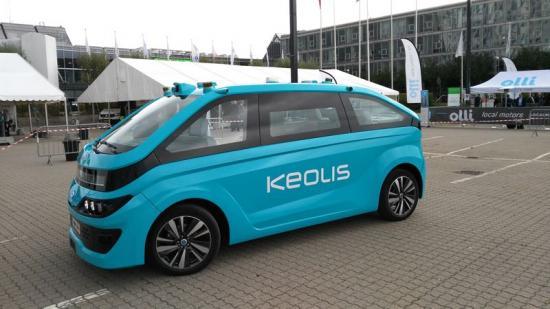 Keolis Autonom cab.