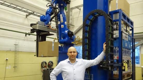 Yaskawa och Realtime Robotics ger mer intelligens och flexibilitet till robotlösningar för palletering och materialhantering.