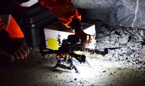Självkörande drönare för undersökning av bland annat gruvor, utvecklas vid Luleå tekniska universitet.