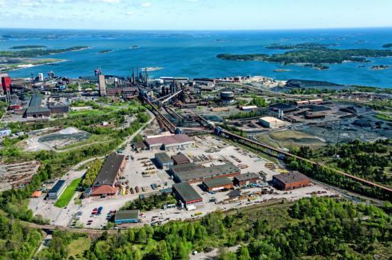 Proplates produktionsanläggning i Oxelösund