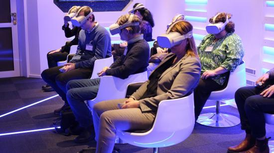 I samarbete med stålkoncernen Ovako har CLVR Works och IVAR Studios är det nu möjligt att besöka samtliga Ovakos produktionsorter med hjälp av VR.