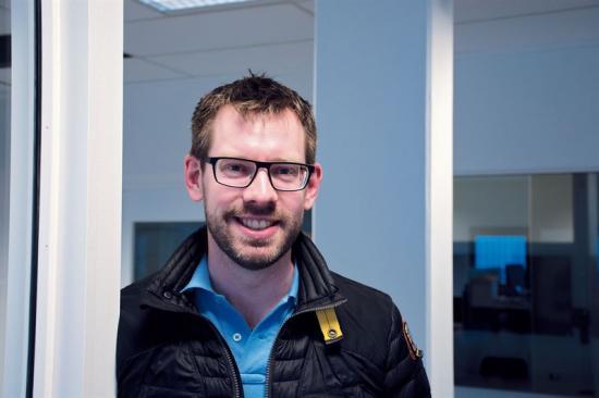 Mattias Bogren, kursansvarig för IWS-utbildningen.