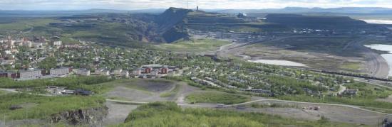 Hela Kirunaområdet ska kartläggas i det nya projektet.