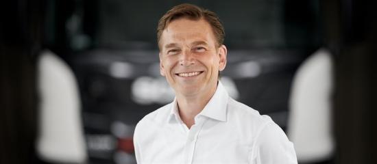 Christian Levin, tillträdande VD, TRATON GROUP och VD och koncernchef, Scania.