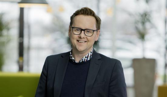 <span>Johan Franzén, affärsområdeschef industri/logistik</span><span>, Platzer.</span>