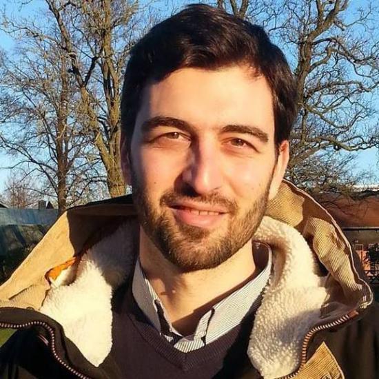 Konstantinos Chandolias, doktorand.