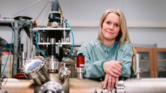 Johanna Rosén, professor på Institutionen för fysik, kemi och biologi vid Linköpings universitet.