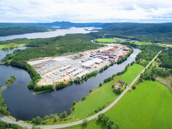 Biozins anläggning skall byggas vid Bergene Holms sågbruk Nidarå i Åmli.