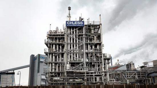 Luleå tekniska universitets vätgassatsning CH2ESS med anläggning för tung experimentell verksamhet i pilotanläggningen för drivmedelsyntes, LTU Green Fuels.