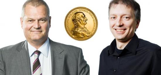 Lars Stigsson och Valeri Naydenov - Polhemspristagare 2018.