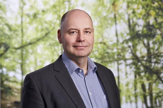 Torgny Persson, forsknings- och innovationsdirektör Skogsindustrierna