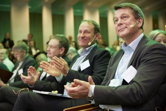 Främsta raden, bl.a. Magnus Wikström och Jan Wintzell