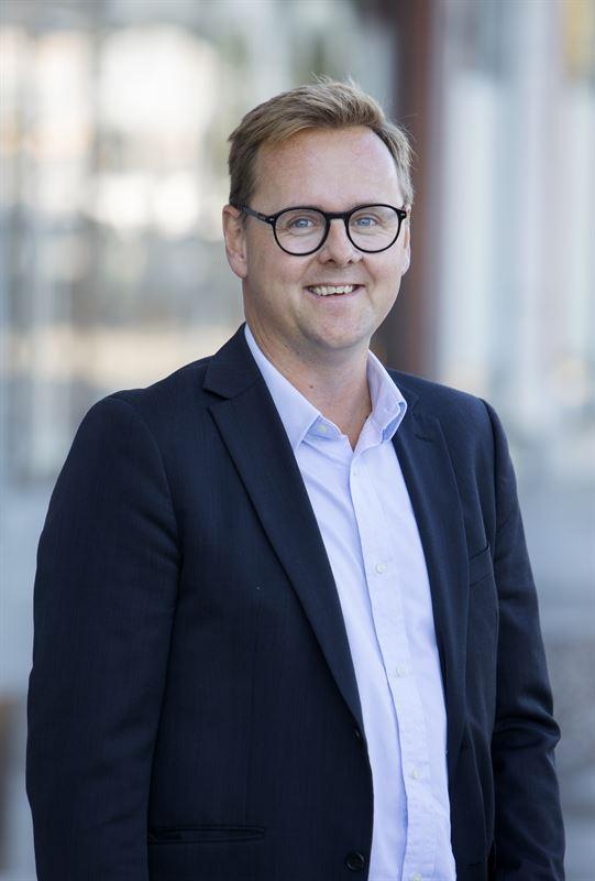 Johan Franzén, affärsområdeschef för industri och logistik på Platzer.