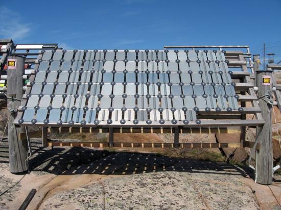 SSABs Galfanöverglänste konkurrerande materialiförmågan att motstå korrosion.