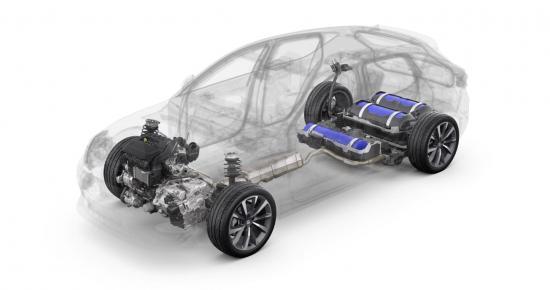 Drivlinan för nya SEAT Leon 1.5 TGI 130 hk.