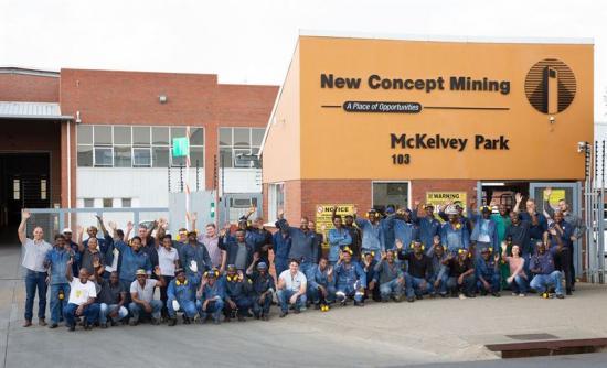 Delar av teamet på Innovative Mining Products.