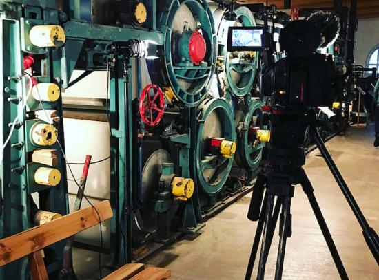 Frövifors pappersbruksmuseum har fått bidrag för att filma intervjuer med före detta anställda vid pappersbruket.