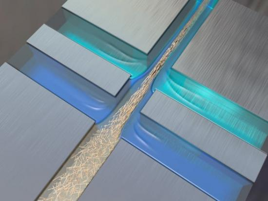 Så här flätas nanofibrerna för att bli till världens starkaste material.