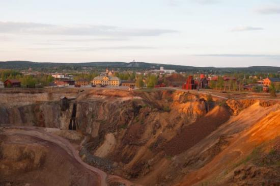 Falu Gruva är en av två platser i Sverige som har valts ut till att representera världsarvsområden som resmål i Europa.