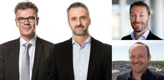 Göran Björkman, Jesper Ederth, Fredrik Emilsson och Ad Raatgeep valdes den 18 maj 2018 in i Jernkontorets fullmäktige.