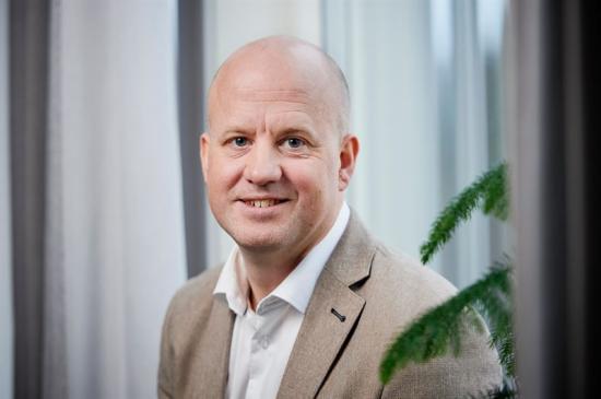 David Öquist, vd på SunPine.
