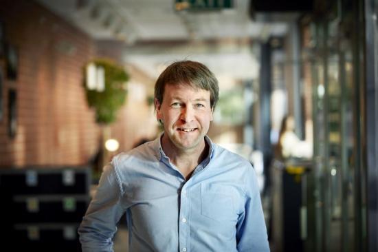 Christian Müller, professor vid institutionen för kemi och kemiteknik, Chalmers.