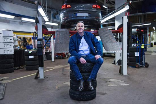 Anders Nilsson, affärsområdeschef Autoexperten.
