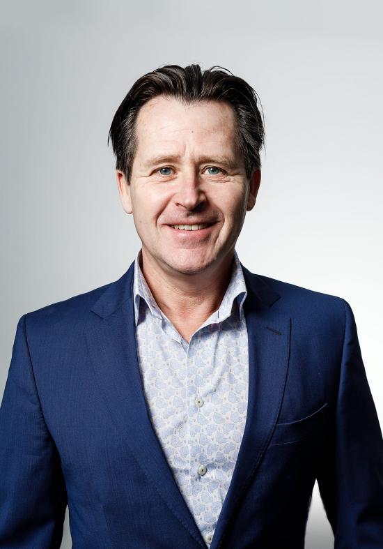 Christer Lundgren, försäljningsansvarig och andre delägare på OCS.